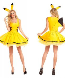 Sexy pickachu costume