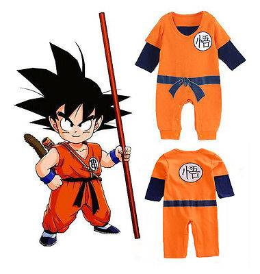 goku costume for new born baby