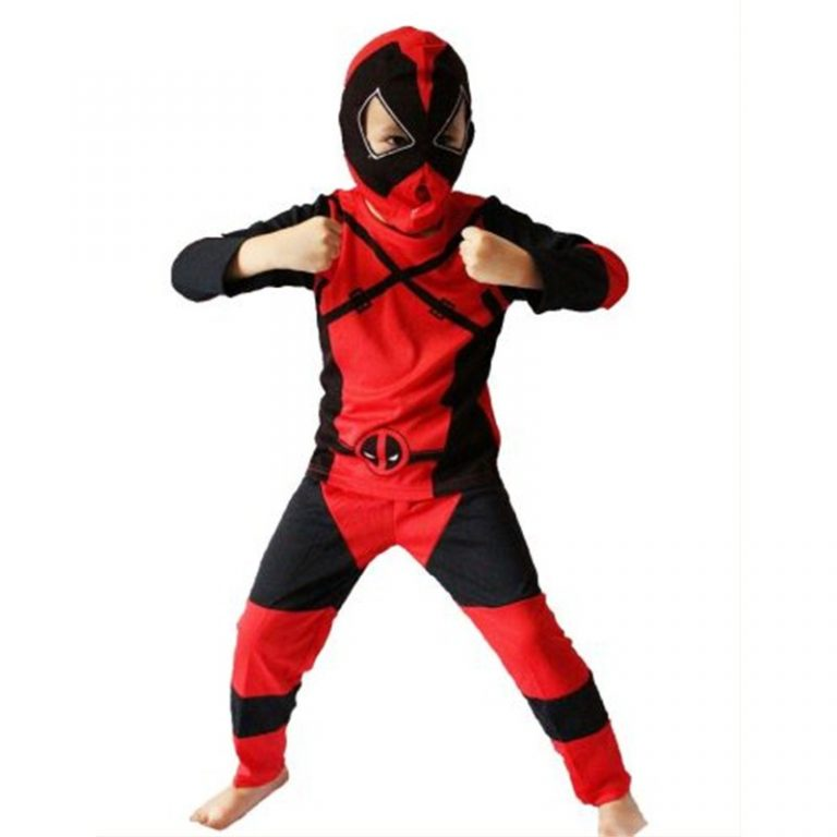 Deadpool Costume For Kids 1