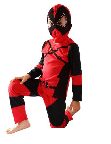 Deadpool Costume Kids