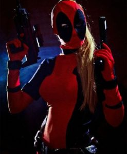 Deadpool Costume for girl and women