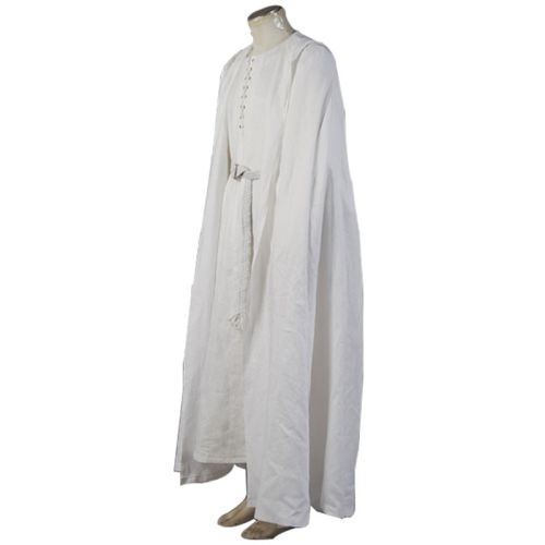 Gandalf Costume for White Robe Cape new