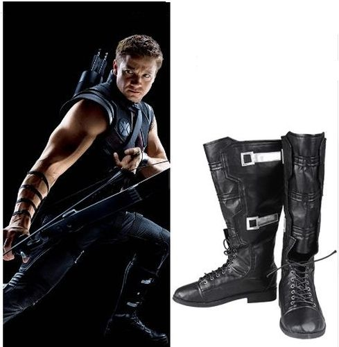 Hawkeye Costume Boots new