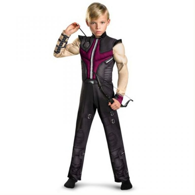 Hawkeye Costume for Kids 1