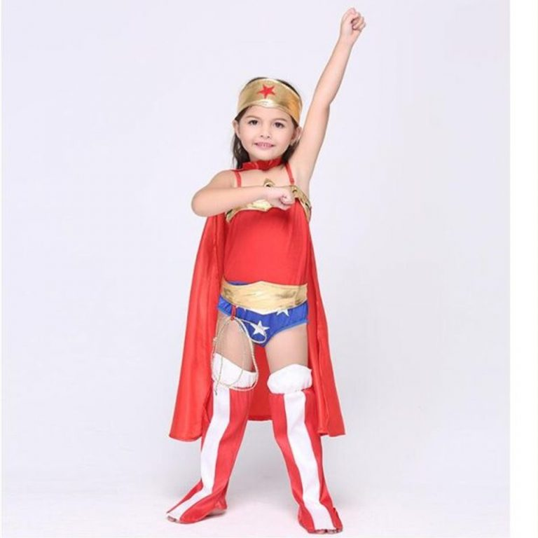 Wonder Woman Costume For Kids 1