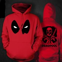 Adult Deadpool Muscle Costume 6