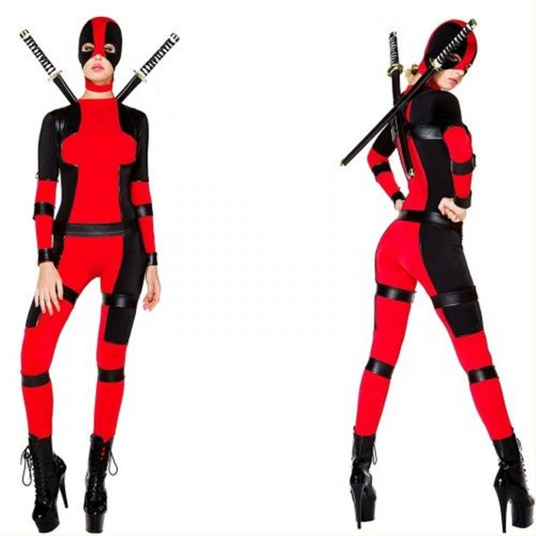 Deadpool Costume  for Woman 6