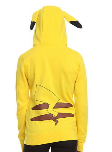 pikachu costume jacket