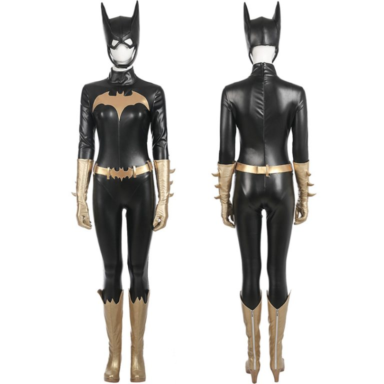 Batgirl  Jumpsuit Costume With Accessories 2