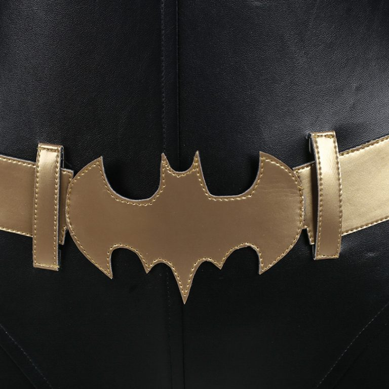Batgirl  Jumpsuit Costume With Accessories 4