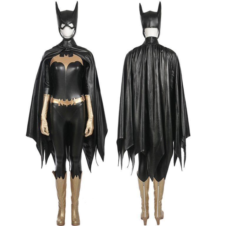Batgirl  Jumpsuit Costume With Accessories 1