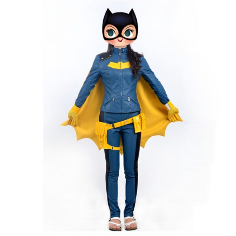 Batgirl Cosplay Costume for kids 1
