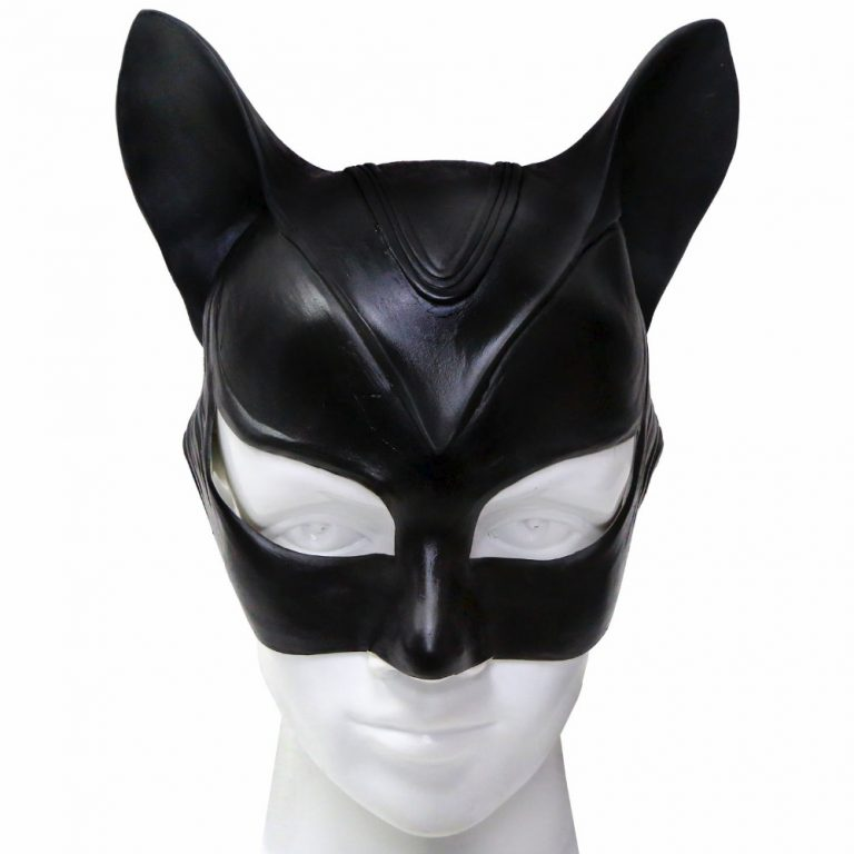 Catwoman Costume Head Mask 2