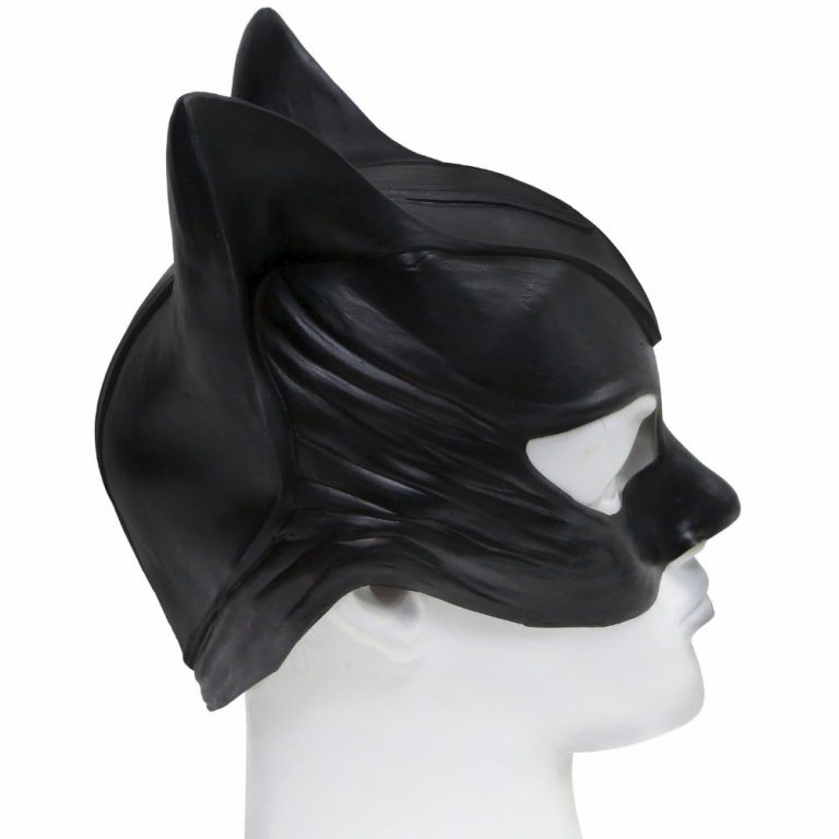 Catwoman Costume Head Mask 4
