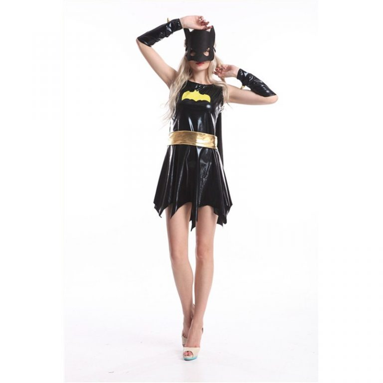 Batgirl Sexy Costume With Mask 1