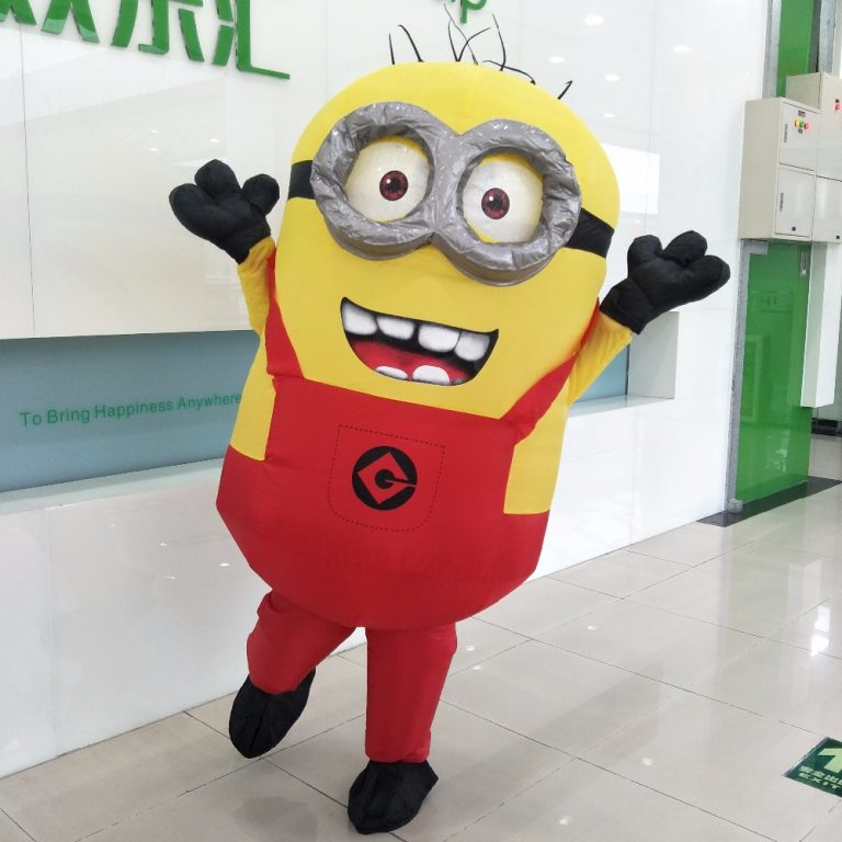 Adult Minion costume Inflatable 6