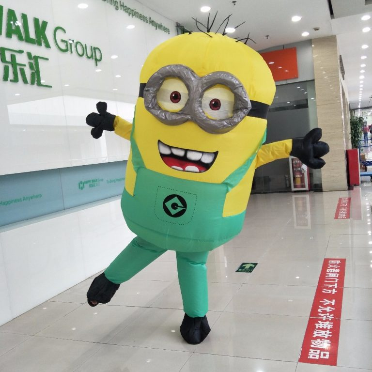 Adult Minion costume Inflatable 2