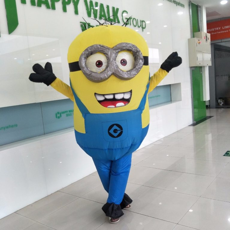 Adult Minion costume Inflatable 3