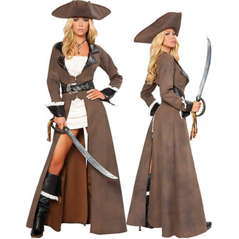 Pirate Sexy Plus Size Costume for Women 1