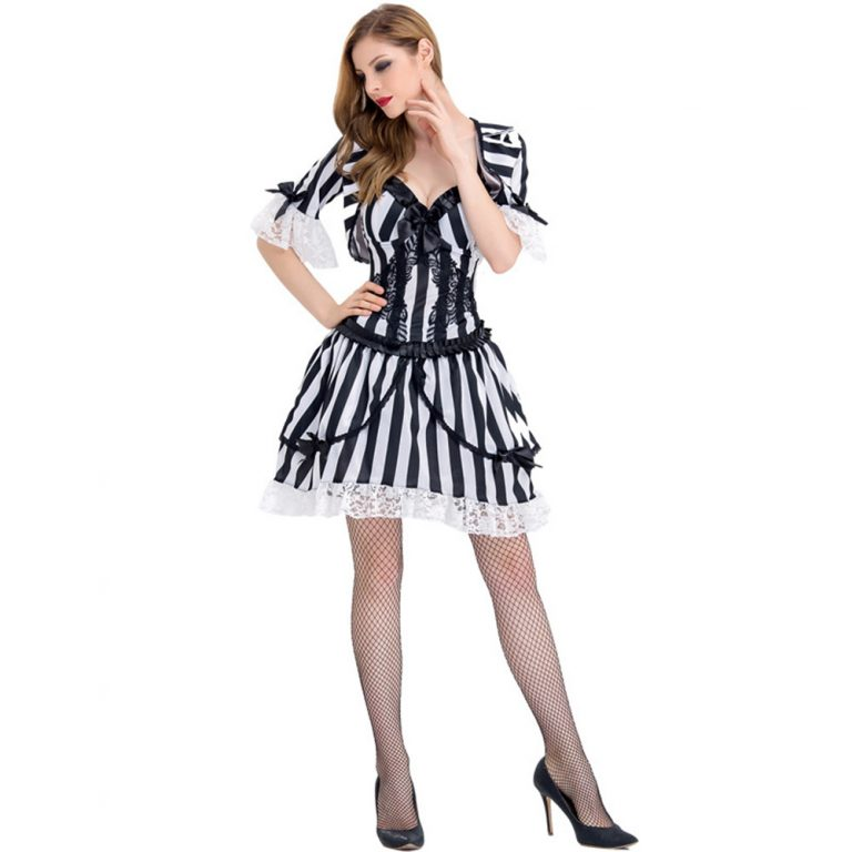 Sexy Beetlejuice Costume for Women 4