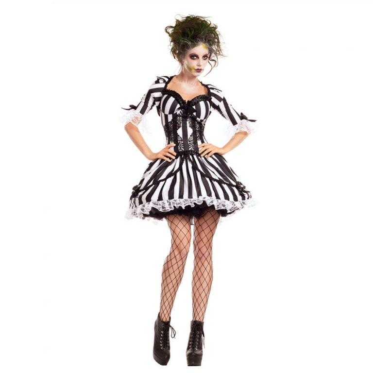 Sexy Beetlejuice Costume for Women 1