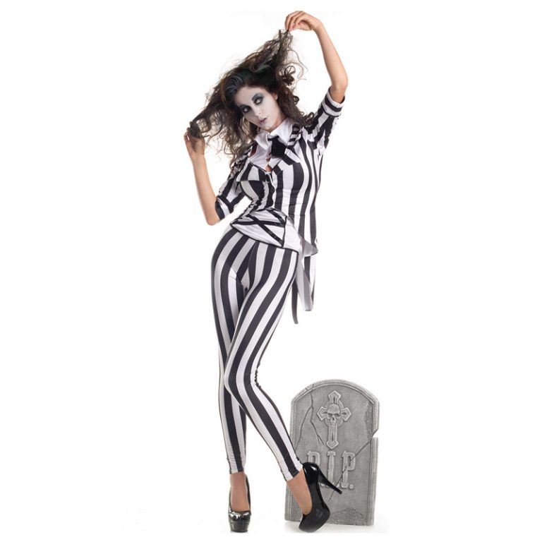Beetlejuice Costume for Women 10