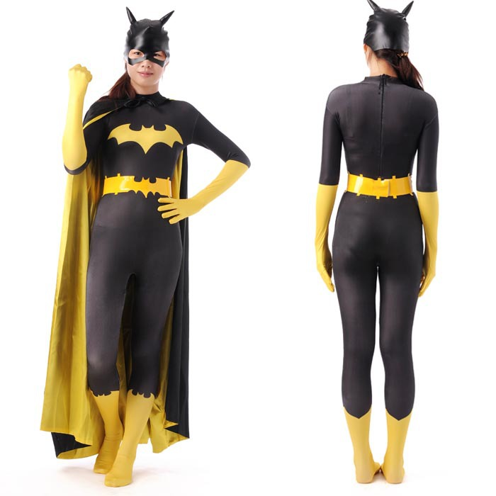 Batgirl Costume with Accessories for Adult 2