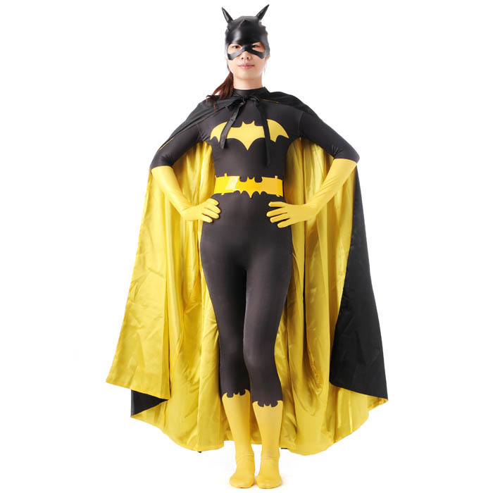 Batgirl Costume with Accessories for Adult 3