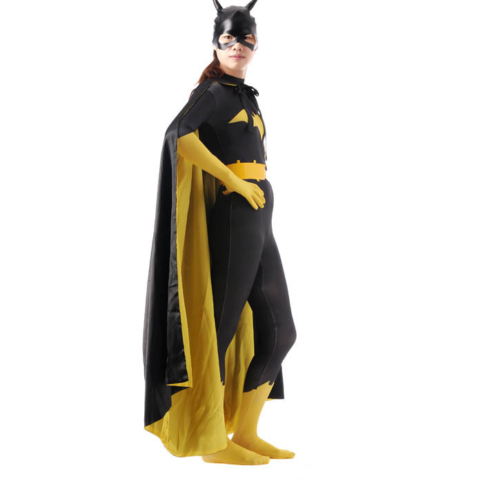 Batgirl Costume with Accessories for Adult 4