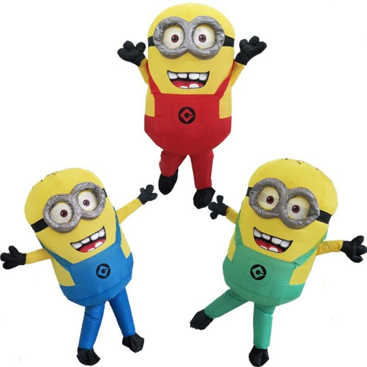 minion costume infatable