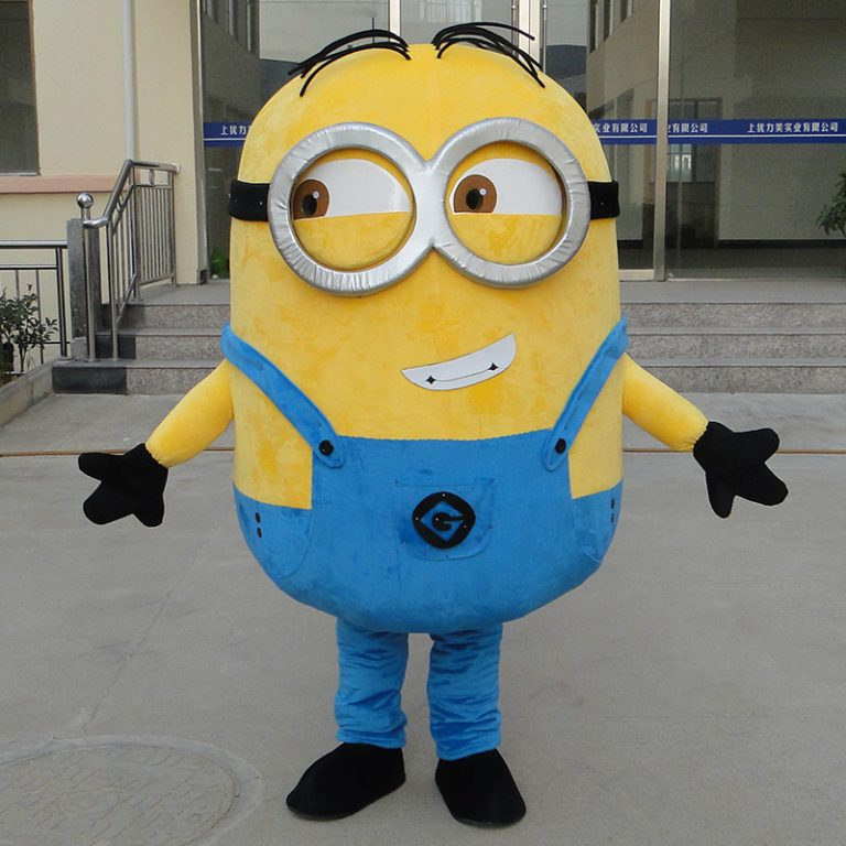 Minion Mascot Costume for Adults 2