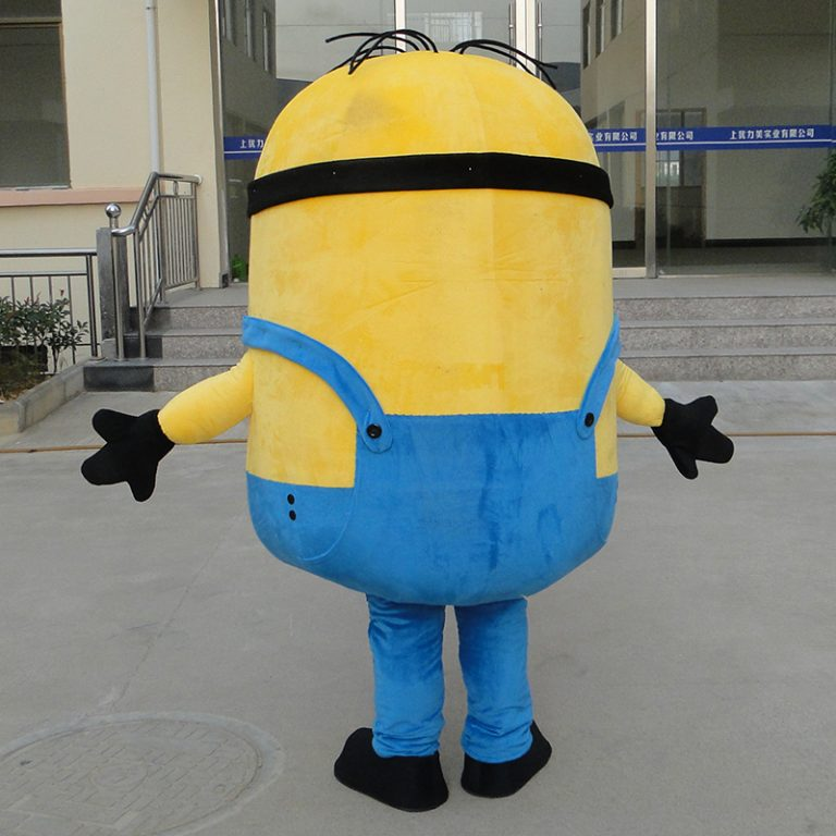 Minion Mascot Costume for Adults 4