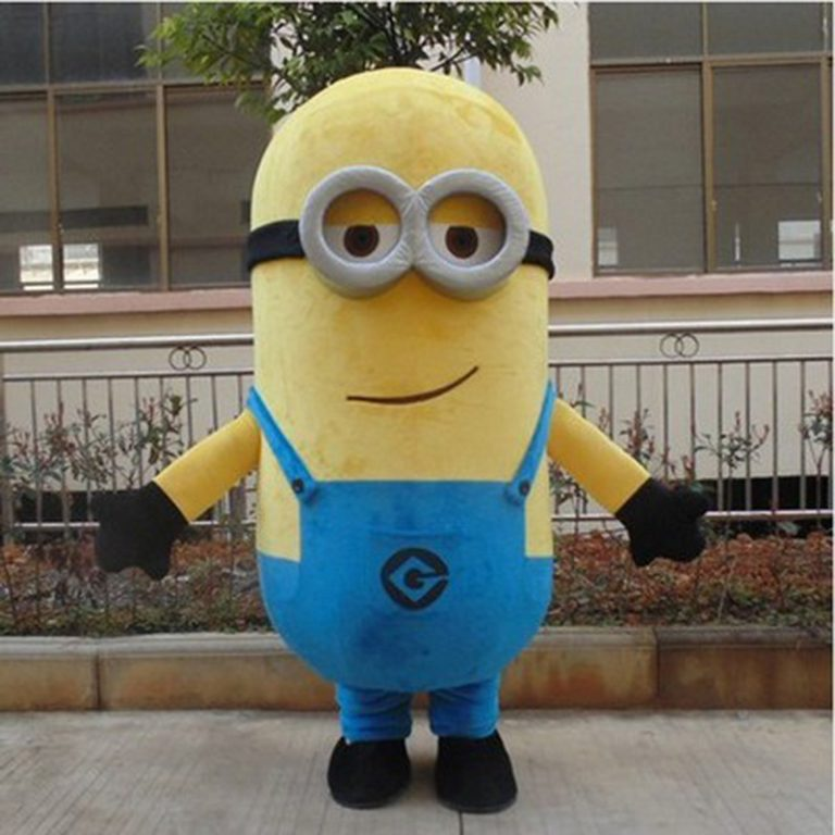 Minion Mascot Costume for Adults 5