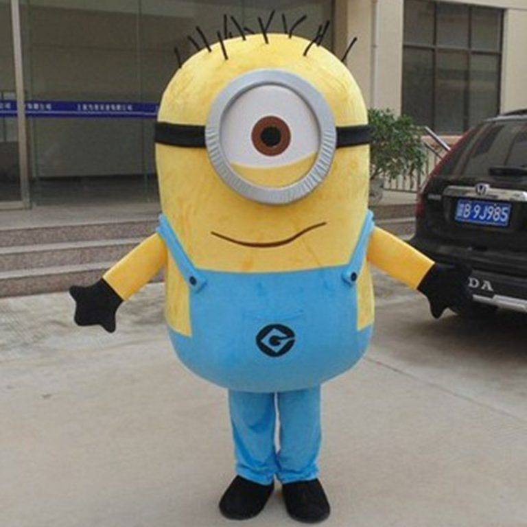 Minion Mascot Costume for Adults 6
