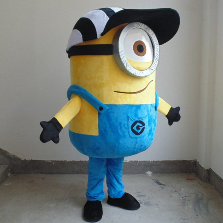 Minion Mascot Costume for Adults 1
