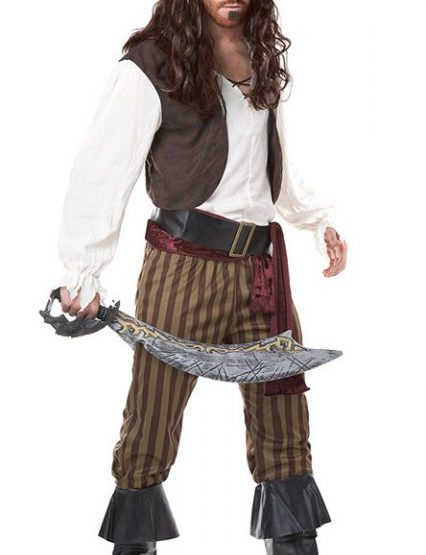 Pirate Plus Size  Costumes for Men 4