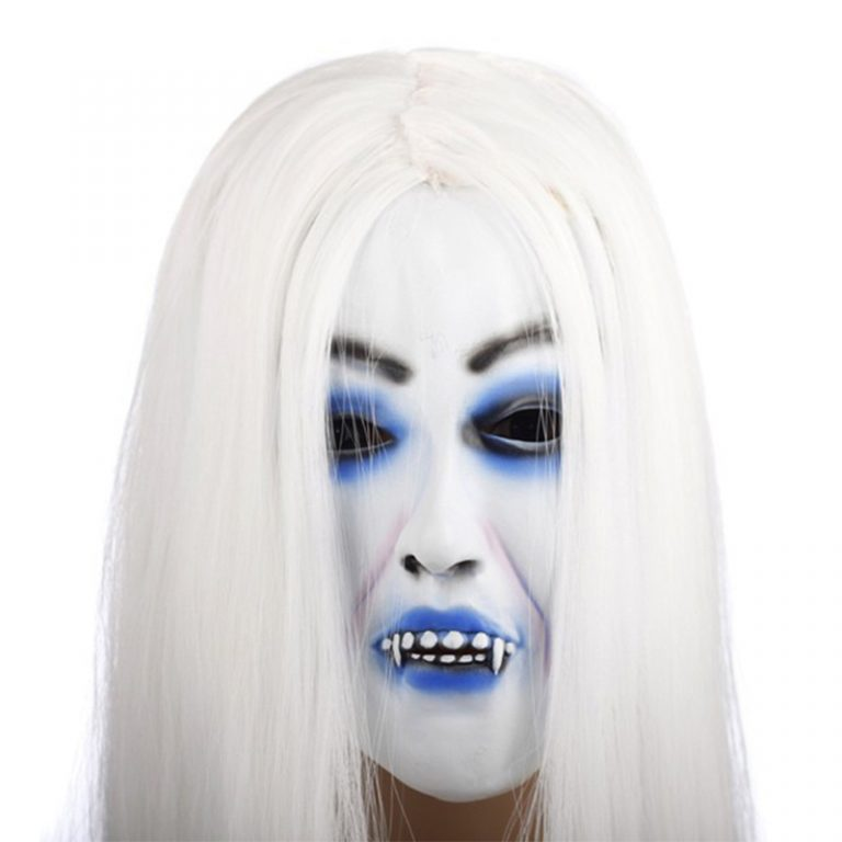 Horrible Creepy Toothy Ghost Mask for Halloween 4