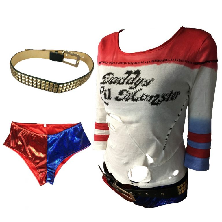 Harley Quinn Costume Full Set 1