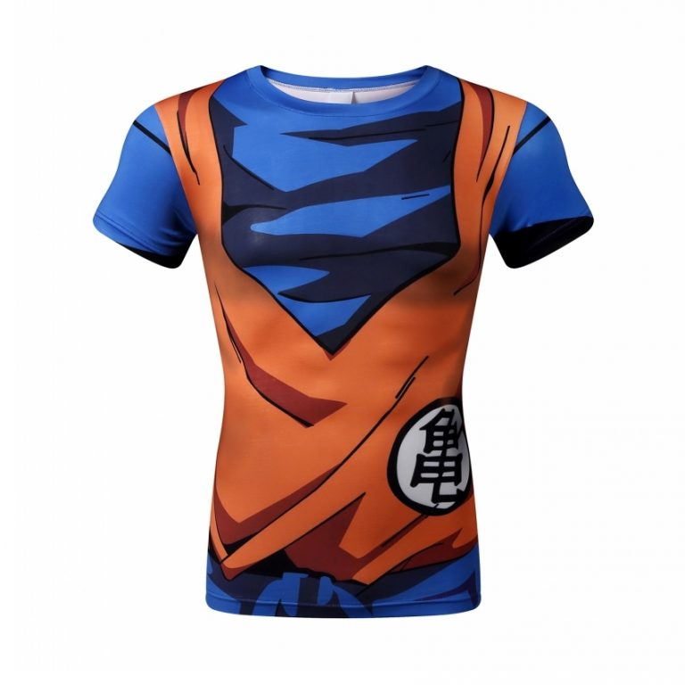 Dragon Ball Z Son Goku 3d T-shirt for Men 4