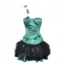 Poison Ivy Cosplay Halloween Dress for Sexy Women 11