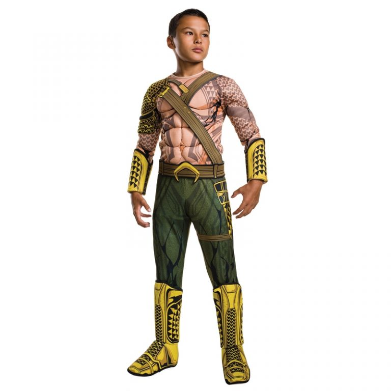 Deluxe  Aquaman Costume For Child 12
