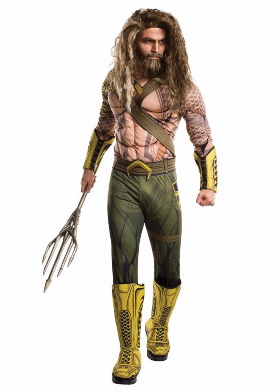 Good Quality  Aquaman Halloween Costume 13