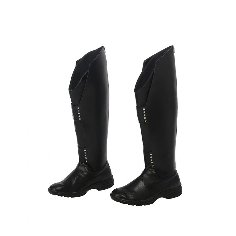 Loki Black Boots for Male 1