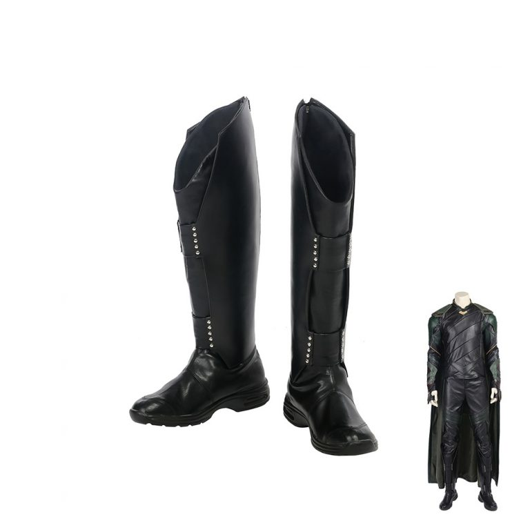 2017-New-Arrival-Movie-Thor-Ragnarok-Loki-Boots-Male-Accessories-Halloween-Cosplay-Shoes-Black-Color
