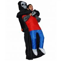 Black inflatable Costumes for Men 2