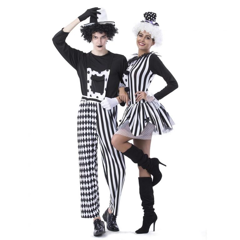 Adult Jester Couples Costumes for Halloween Fancy Dress 7