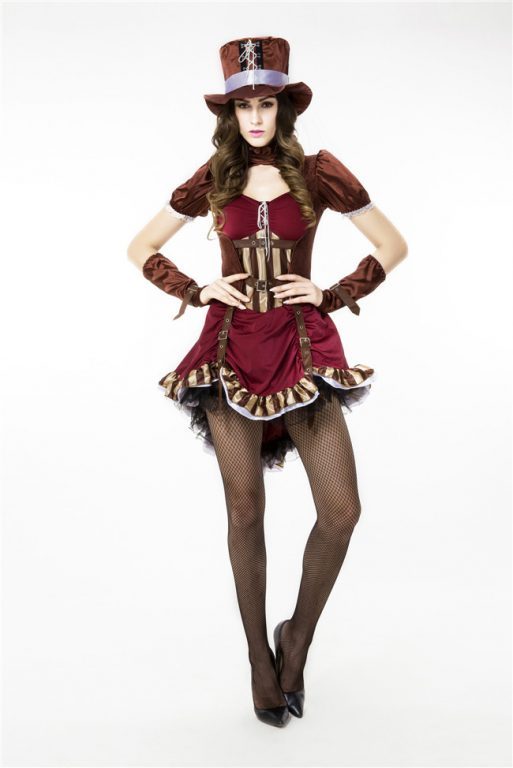 Sexy Deluxe Mad Hatter Costume for Women 3