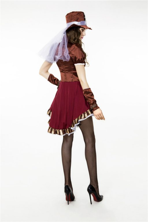 Sexy Deluxe Mad Hatter Costume for Women 4