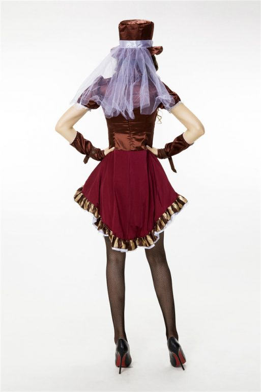 Sexy Deluxe Mad Hatter Costume for Women 5