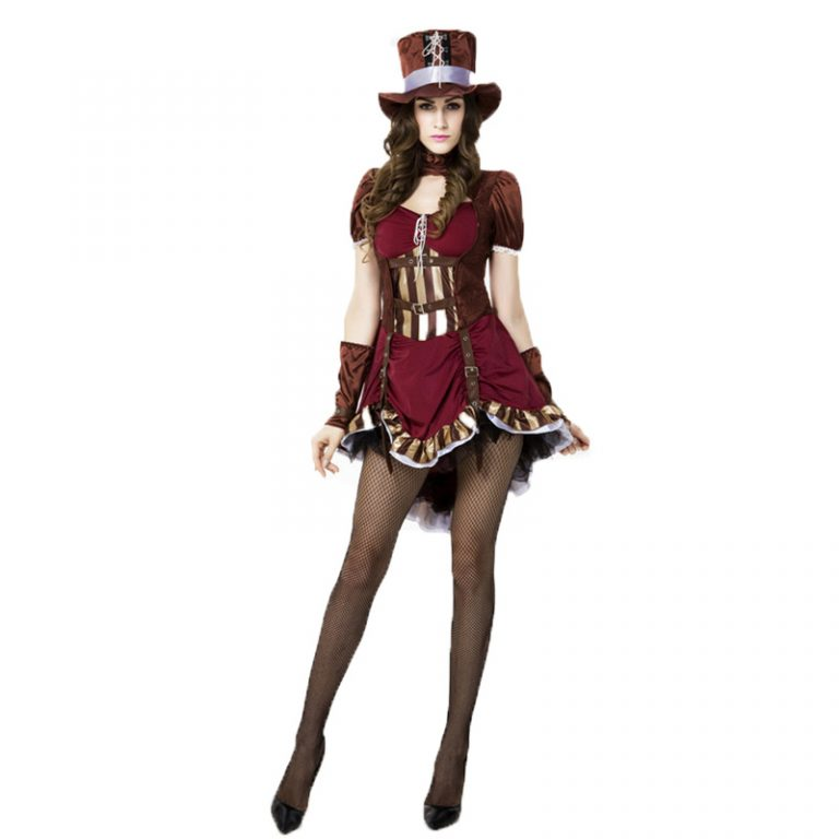 Sexy Deluxe Mad Hatter Costume for Women 1
